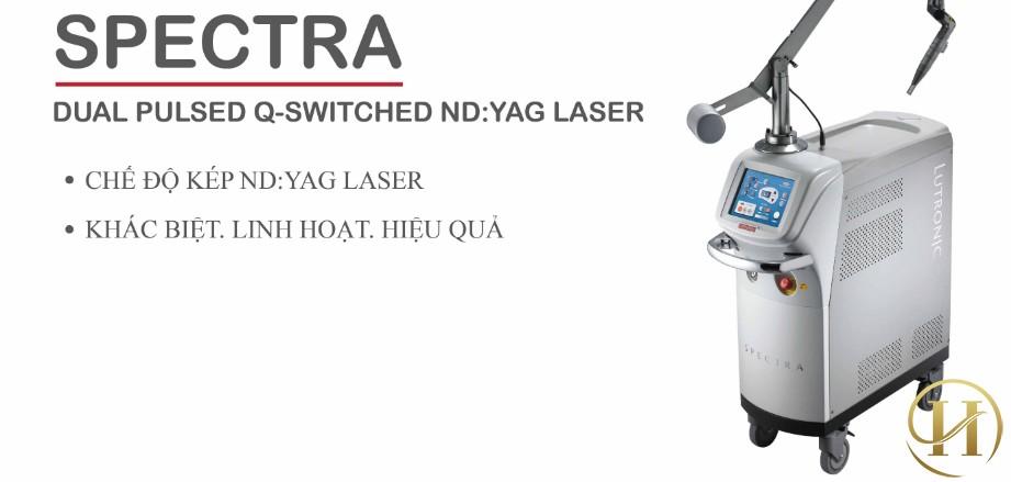 laser spectra tiêu chuẩn vàng trong việc điều trị nám da