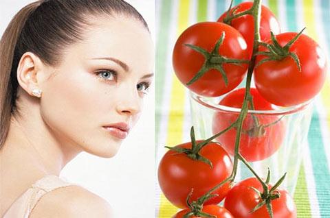 Cà chua giúptrị mụn trứng cá hiệu quả