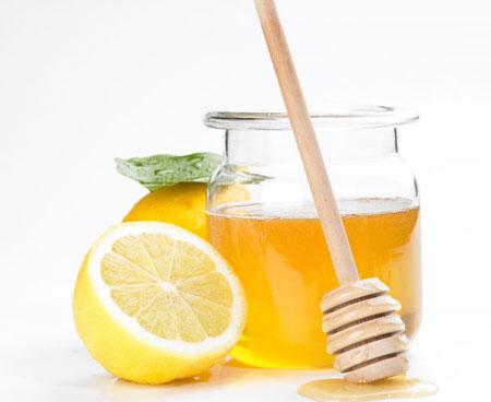 Mật ong và chanh dùng để tẩy lông hiệu quả