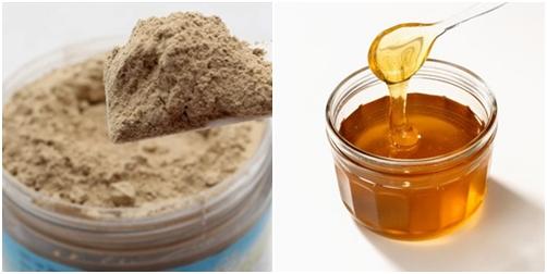 Tự làm mặt nạ bùn khoáng với mật ong