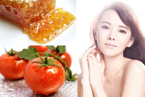 Điều trị nám mặt bằng công thức từ mật ong và cà chua