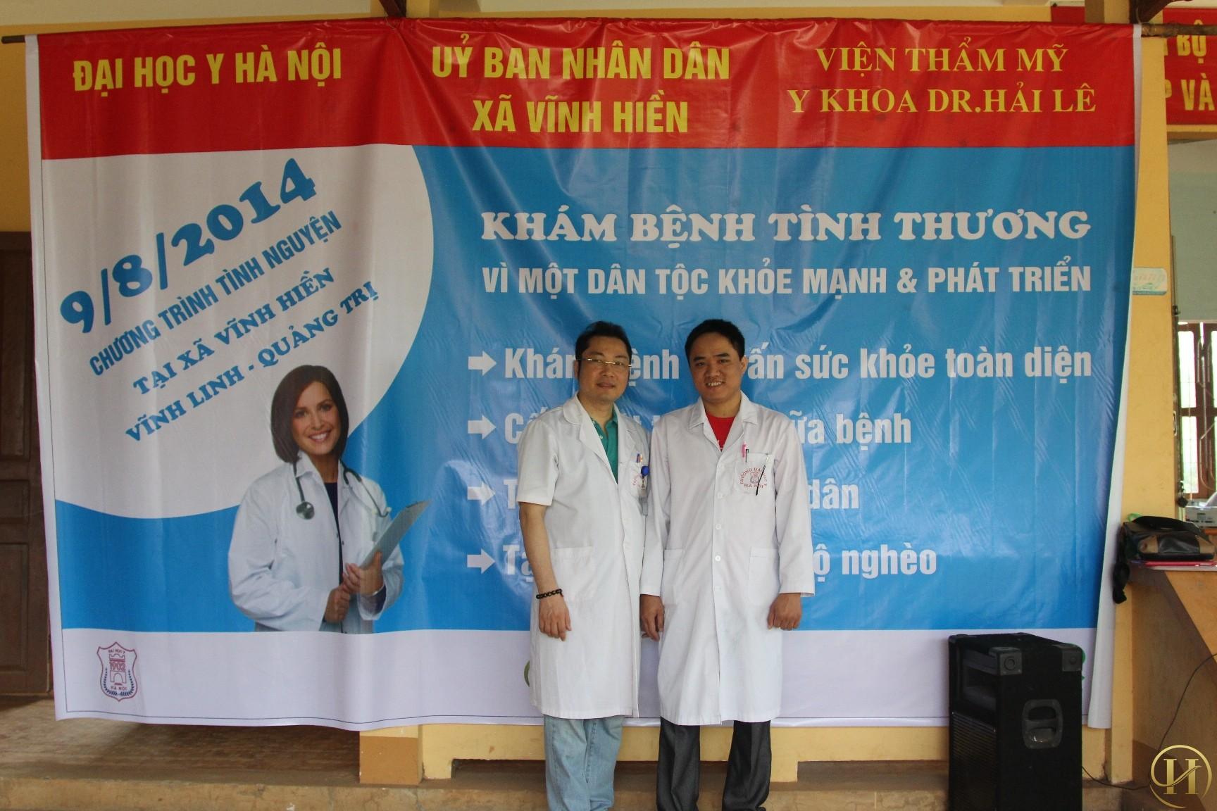 Viện Thẩm Mỹ Y Khoa Dr.Hải Lê tri ân mảnh đất linh thiêng Quảng Trị
