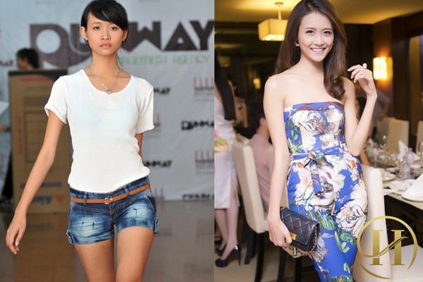 Siêu mẫu Châu Á Trương Mỹ Nhân trước và sau phẫu thuật thẩm mỹ