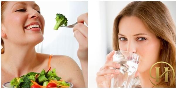 Bổ sung nhiều dưỡng chất từ rau củ quả để có làn da căng mịn