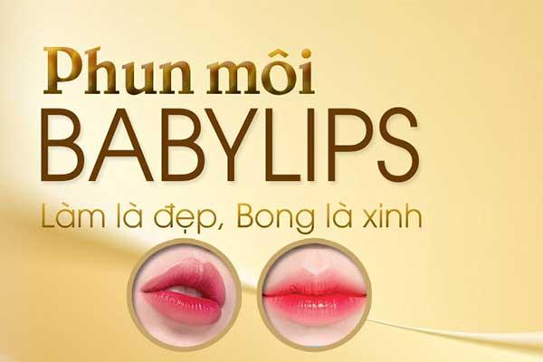 Phun môi Babylips