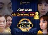 24h - Dr.Hải Lê giải cứu thành công nhiều ca cắt mí mắt bị hỏng
