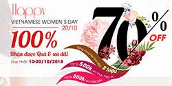 HAPPY VIETNAMESE WOMEN'S DAY - 20/10