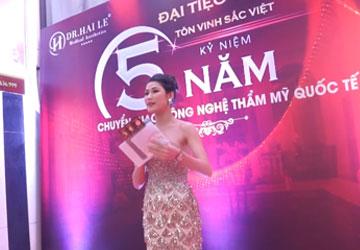 Video đại tiệc tôn vinh sắc Việt