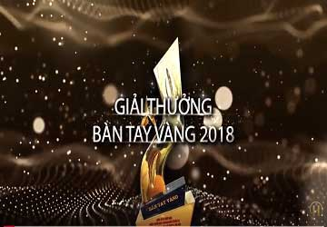 Th.s, Bác sĩ Hải Lê Nhận Giải Thưởng Bàn Tay Vàng 2018