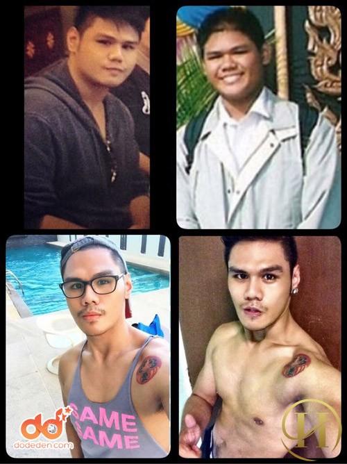 """Chàng trai Thái """"lột xác"""" thành hotboy nhờ nỗ lực giảm được 50kg"""