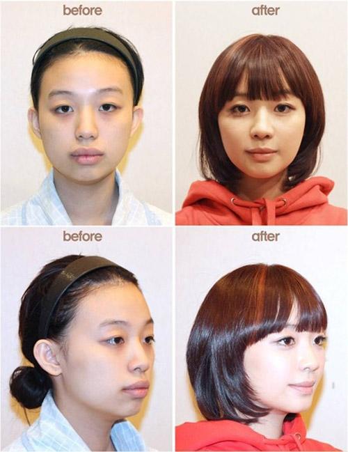 Quá trình thay đổi của cô nàng xứ sở Kim Chi