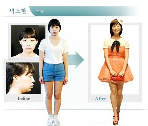 Diện mạo mới của cô nàng Park So Hyeon