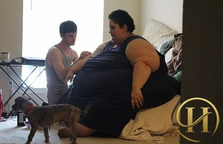 """""""Sửng sốt"""" trước nỗ lực giảm cân của cô gái nặng 300kg"""