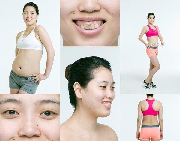 Cô gái trẻ sở hữu gương mặt kém xinh và cơ thể thừa cân
