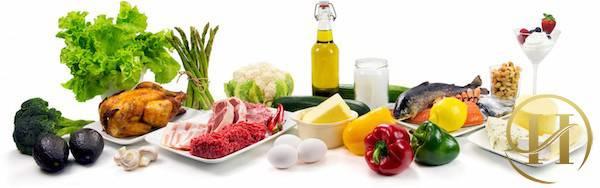 Thực phẩm ăn kiêng giảm mỡ bụng