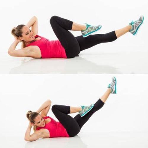 Bài thể dục thẩm mỹ giảm mỡ bụng hiệu quả trong 1 tuần