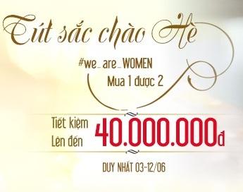 """Khởi động chương trình """"We are Women"""" tặng đến 40 triệu tại Dr.Hải Lê"""