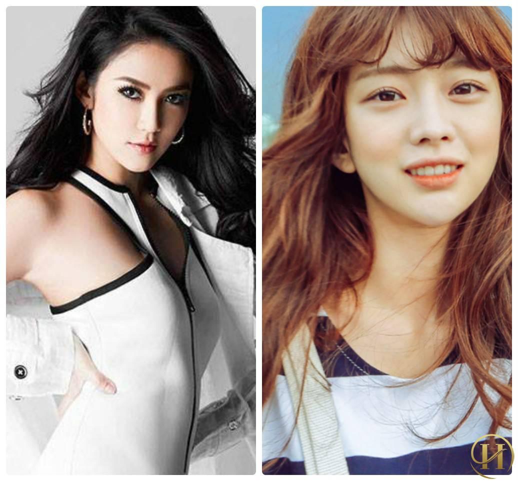 Nhấn mí Thái Lan và nhấn mí Hàn Quốc