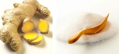 hướng dẫn cách làm giảm mỡ bụng bằng muối rang và gừng 3